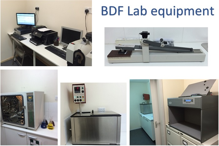 BDF LAB EQUIPMENT