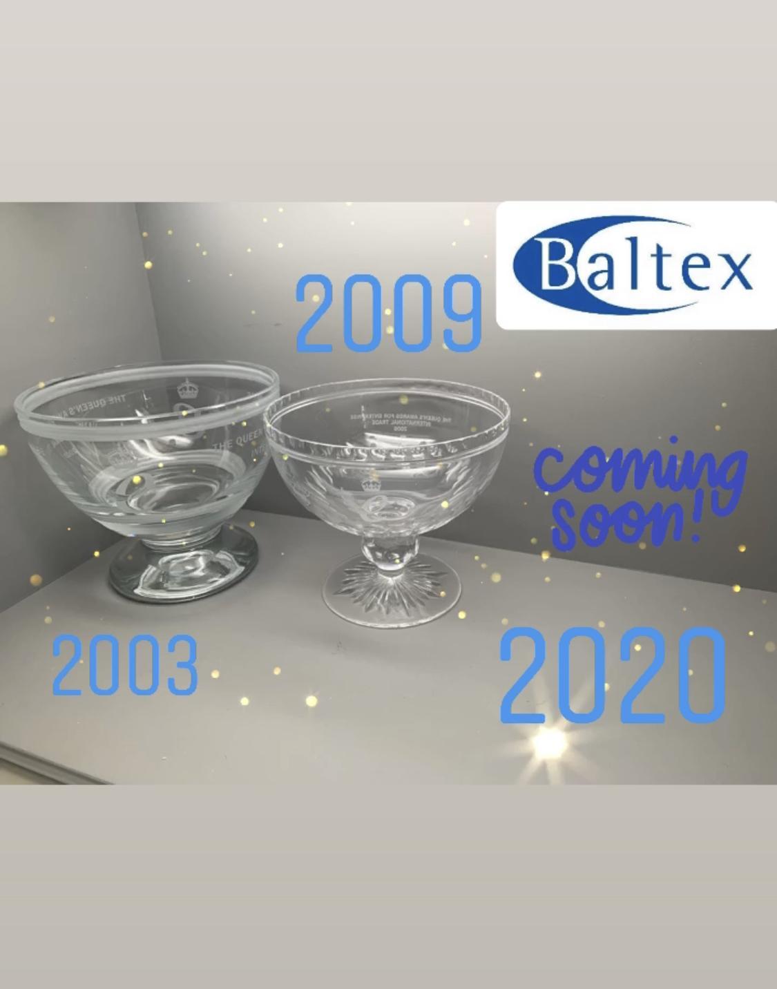 Baltex 3rd Queen's Award!